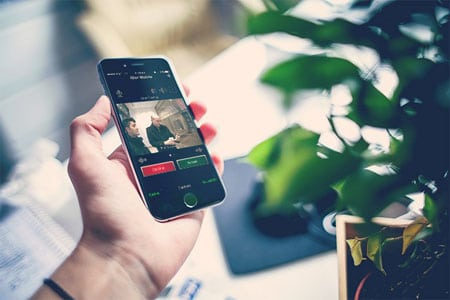 iDor Mobile удаленный видеодомофон из iphone