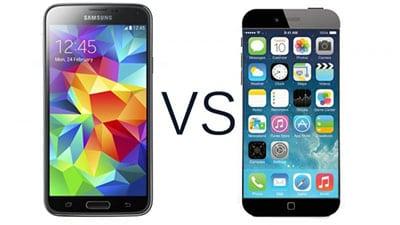 Apple iPhone против Galaxy