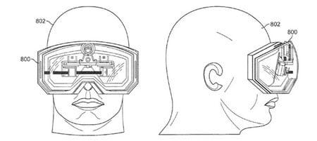 Apple запатентовала видео очки